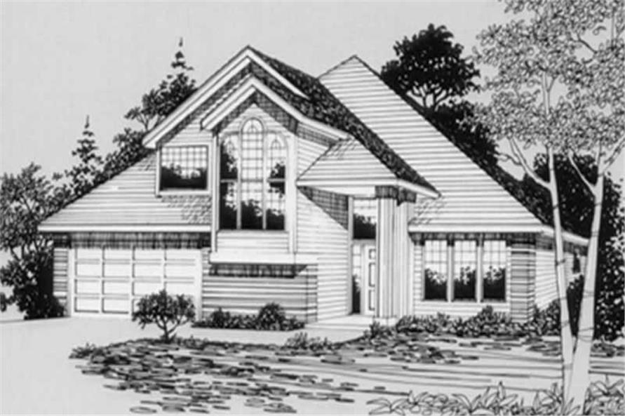 Main image for house plan # 2288