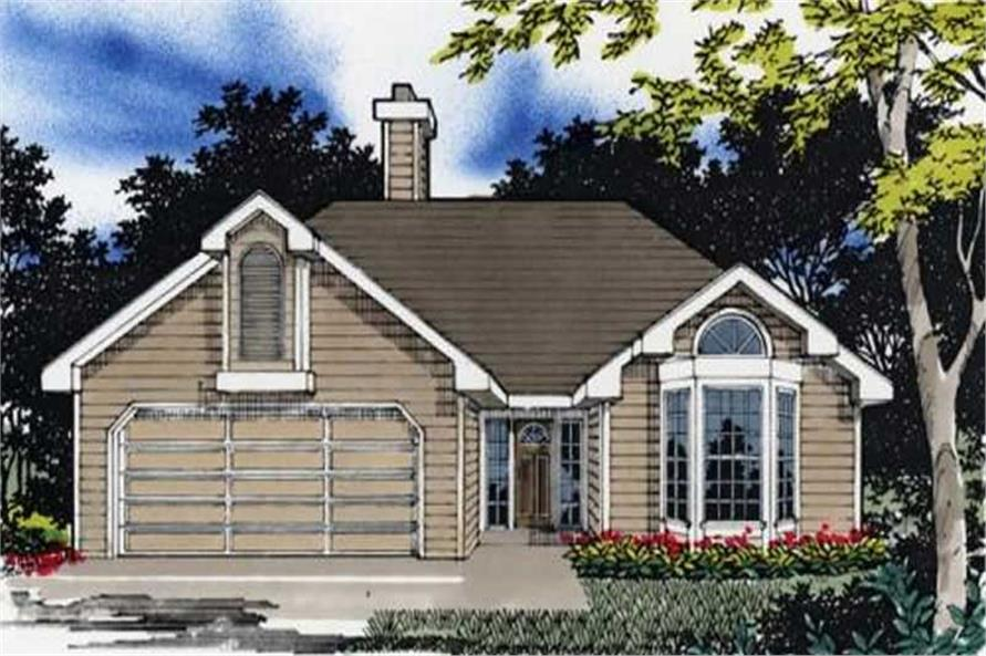 Main image for house plan # 2255