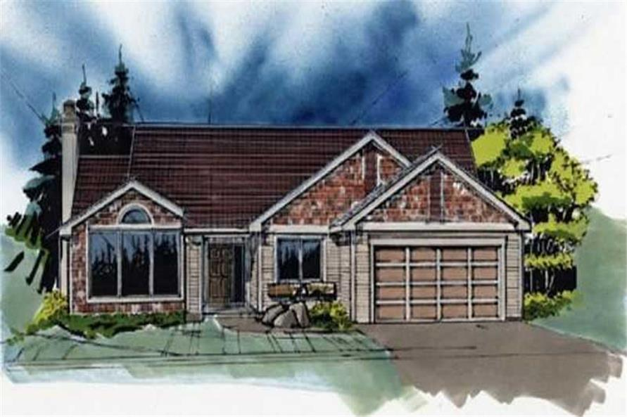 Main image for house plan # 2259