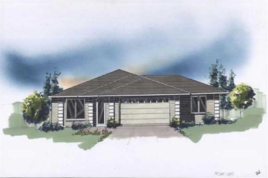 Main image for house plan # 2736