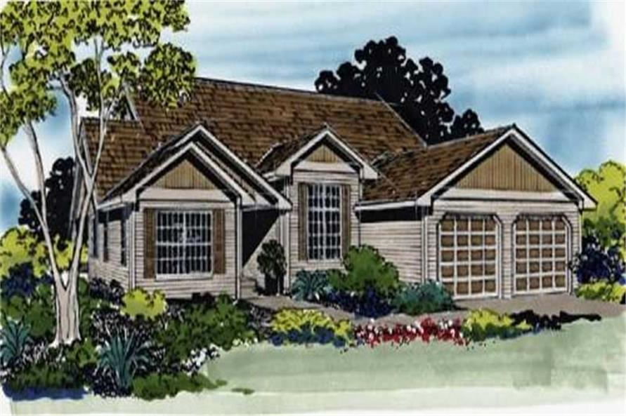 Main image for house plan # 2265