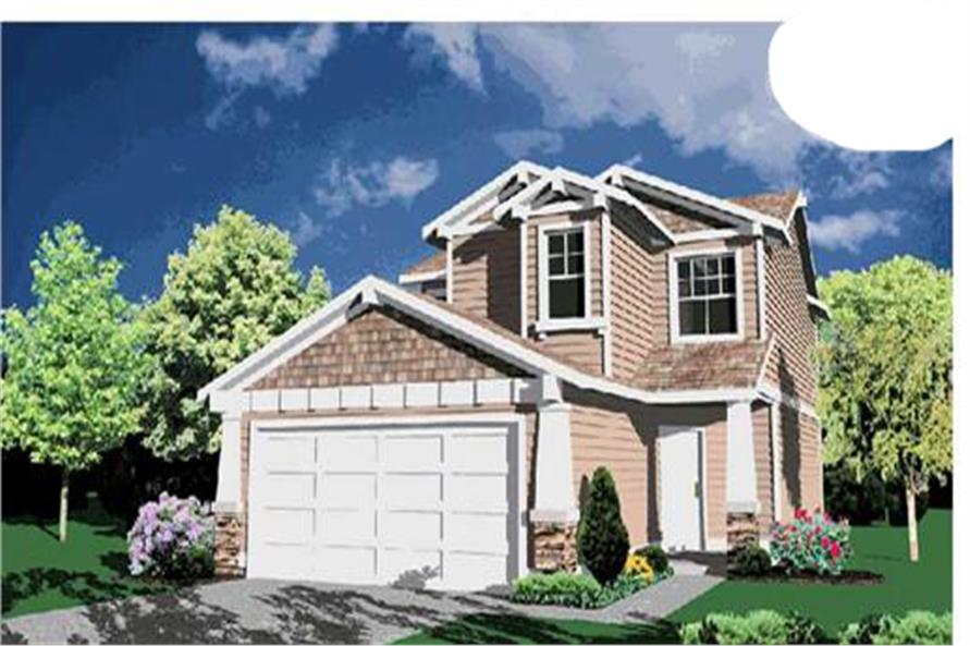 Main image for house plan # 2272