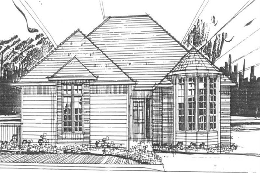 Main image for house plan # 2249