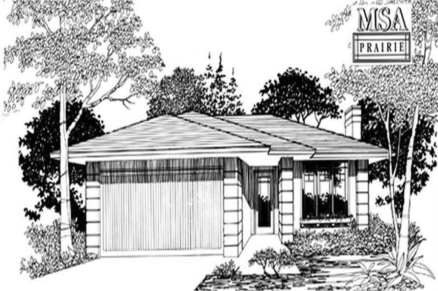 Main image for house plan # 2250