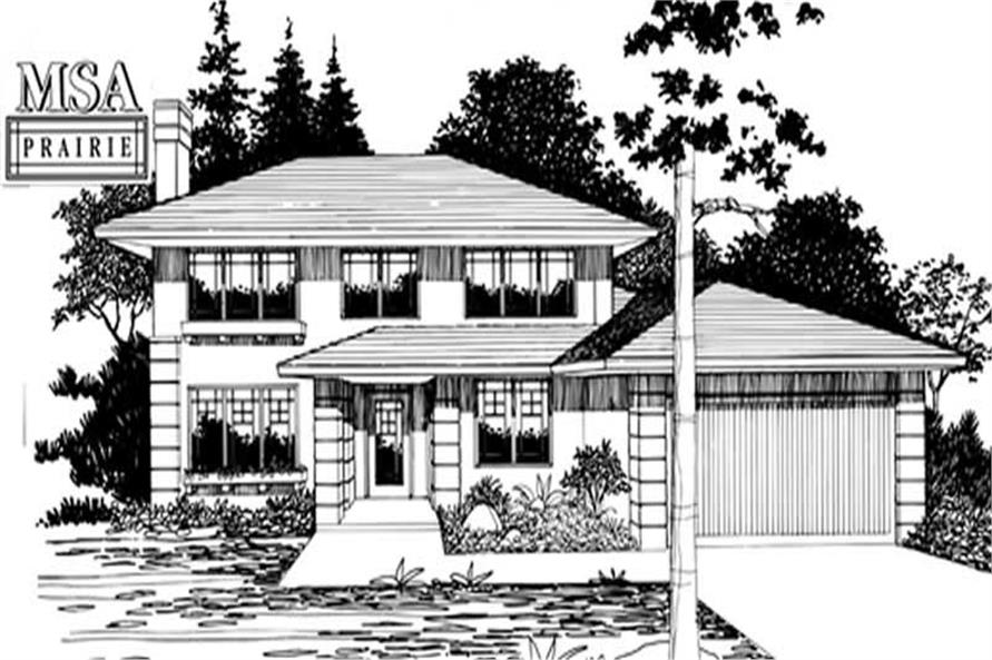 Main image for house plan # 2725