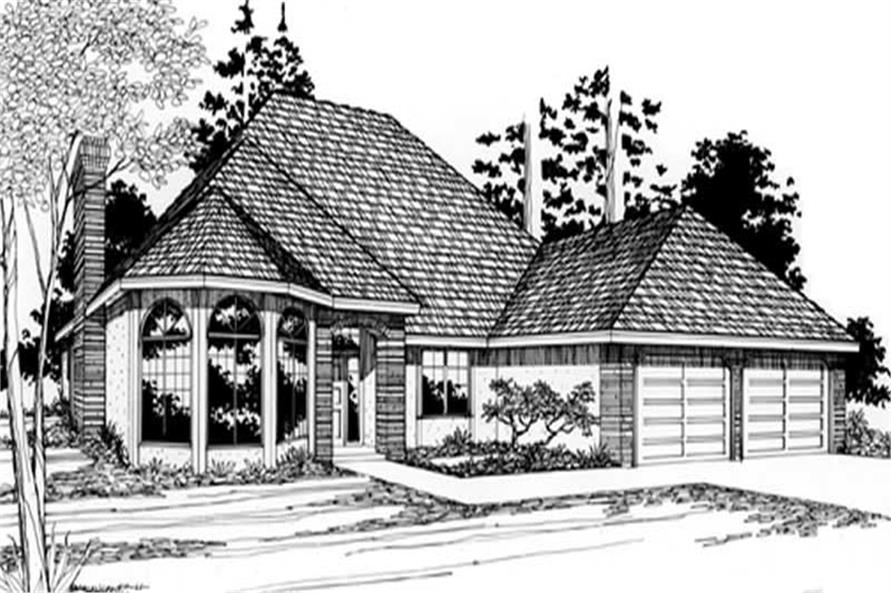 Main image for house plan # 2775