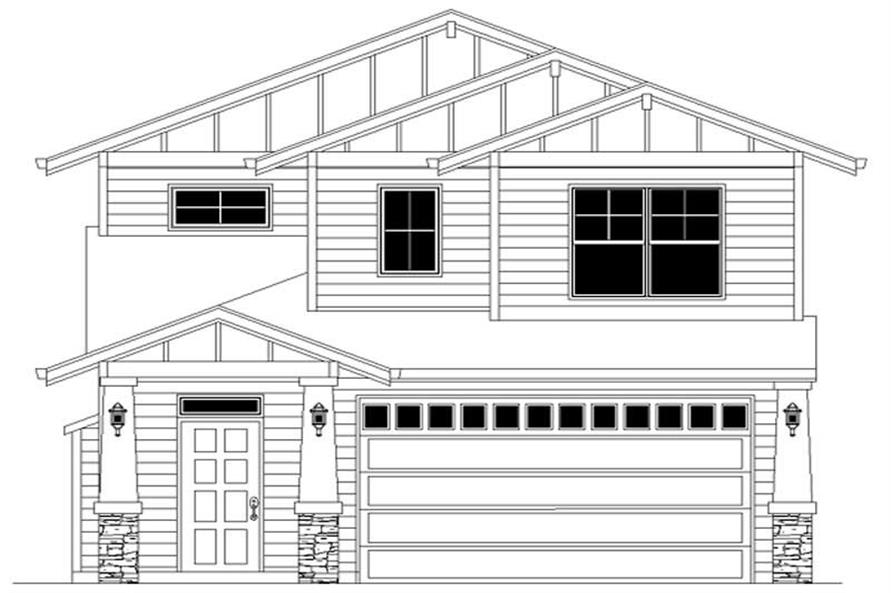 Main image for house plan # 2302
