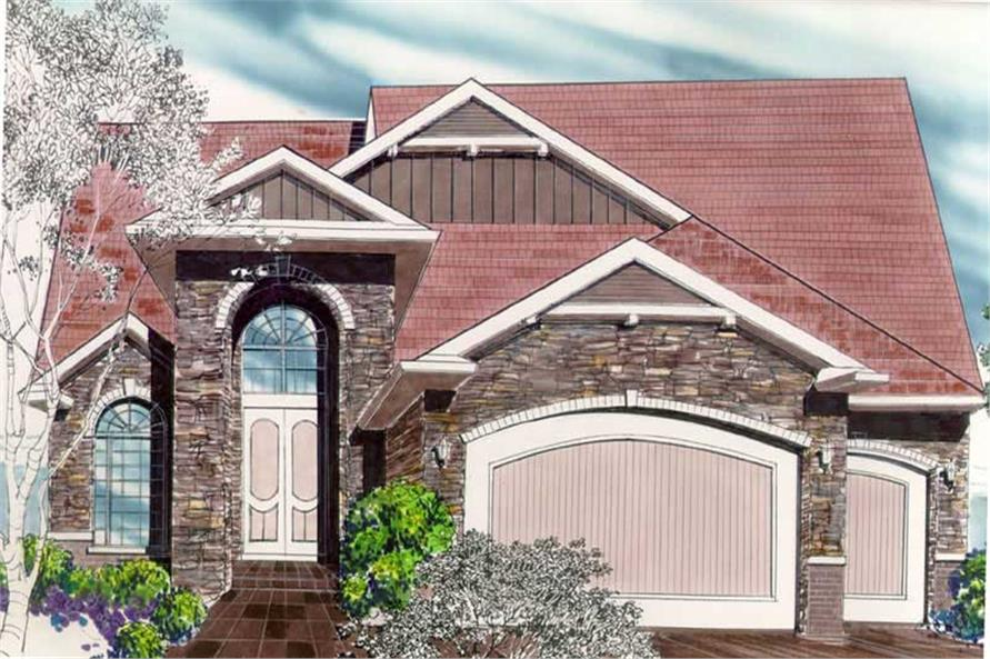 Main image for house plan # 2521