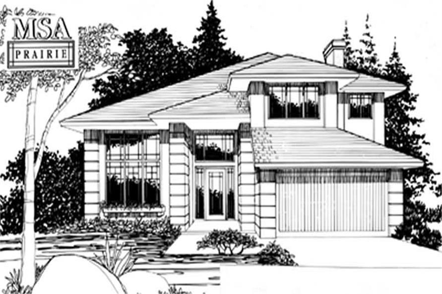 Main image for house plan # 2301