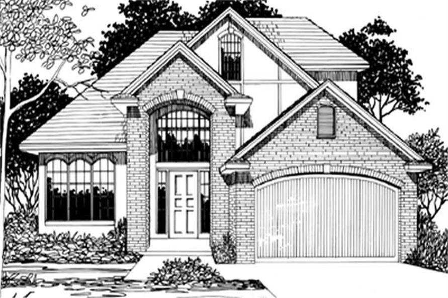 Main image for house plan # 2300