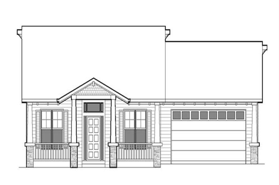 Main image for house plan # 2298