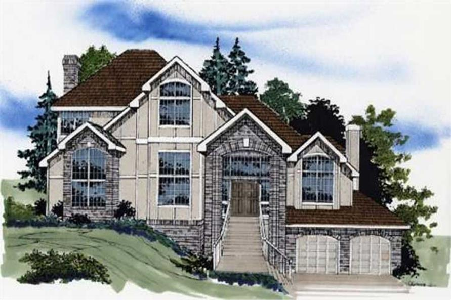 Main image for house plan # 2519