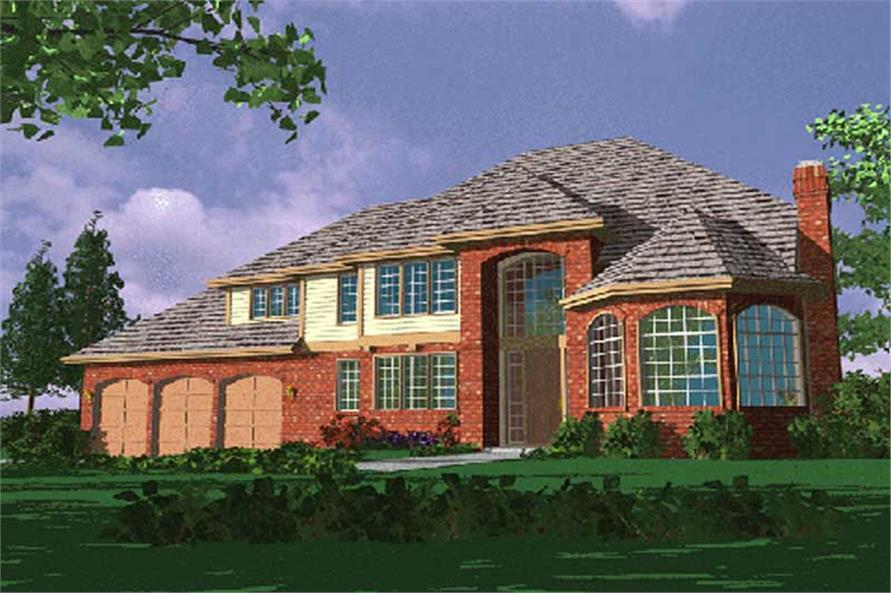 Main image for house plan # 2316