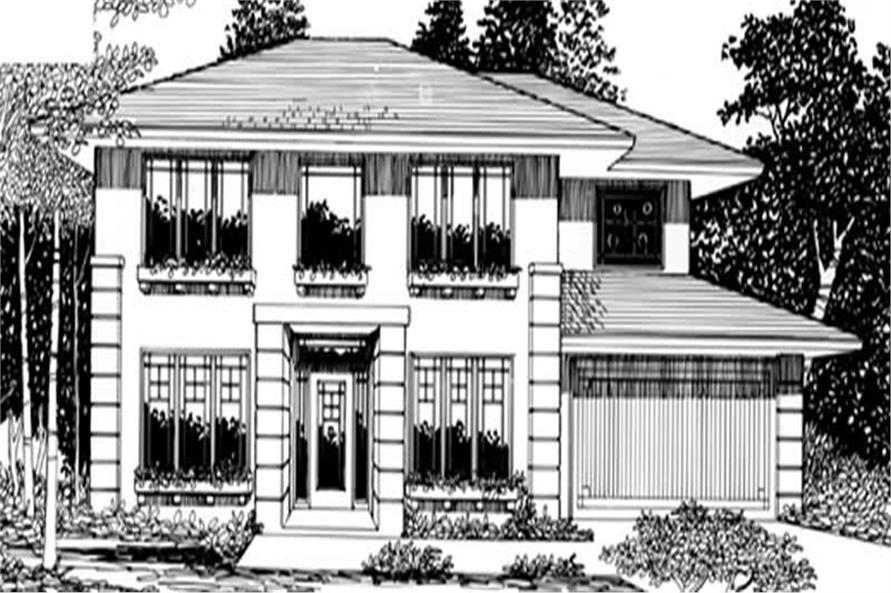 Main Elevation for ms2095