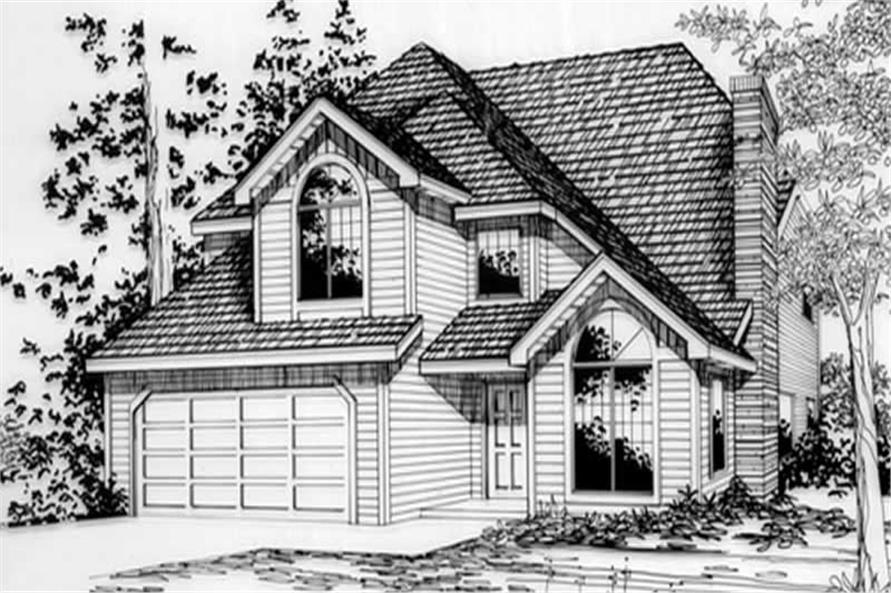 Main image for house plan # 2786