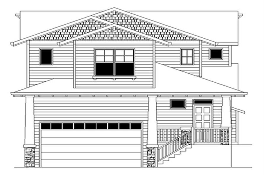 Main image for house plan # 2304