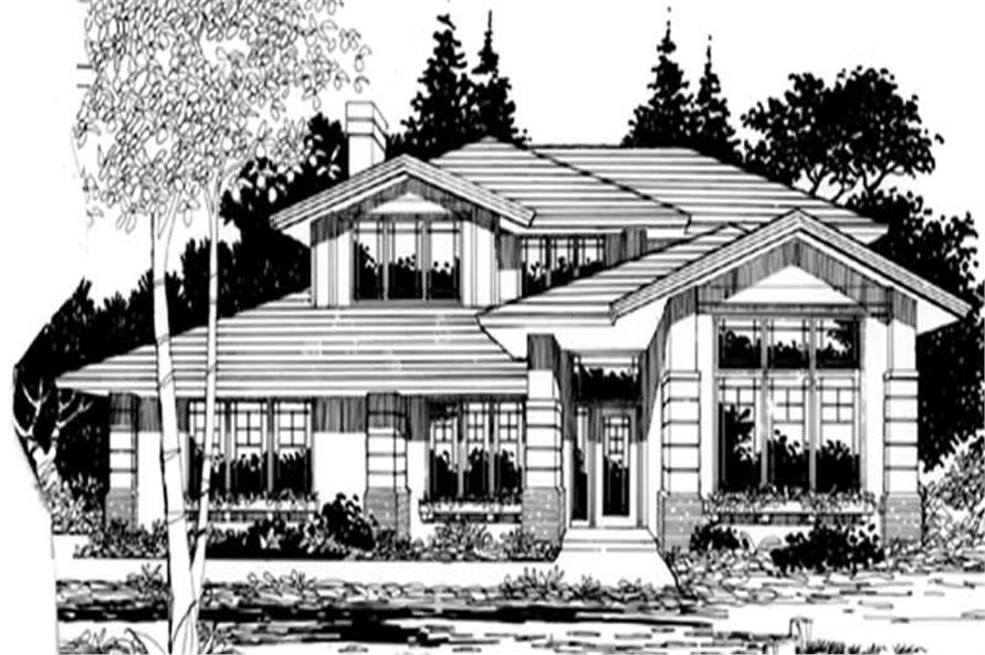 Main image for house plan # 2780