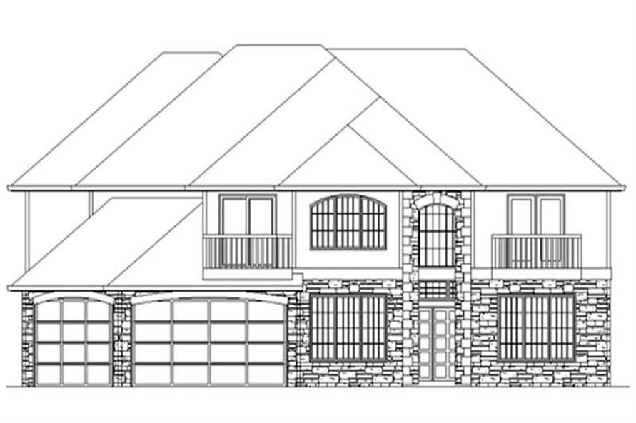 House Plans M-3789 rendering.