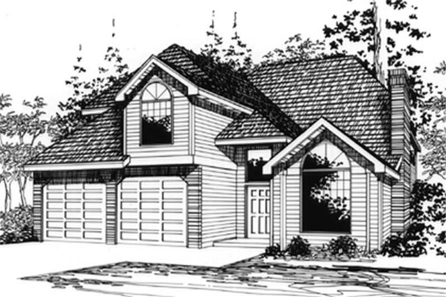 Main image for house plan # 2808