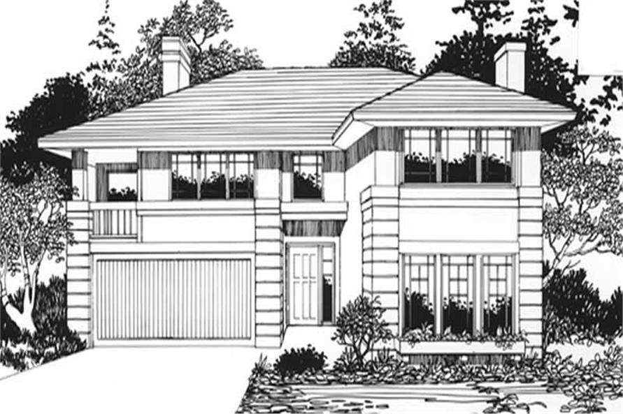 Main image for house plan # 2784