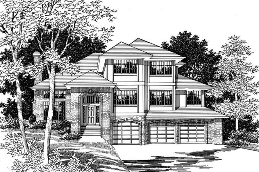 Main image for house plan # 2527