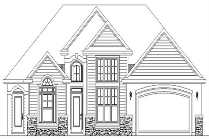Main Elevation for ms2171