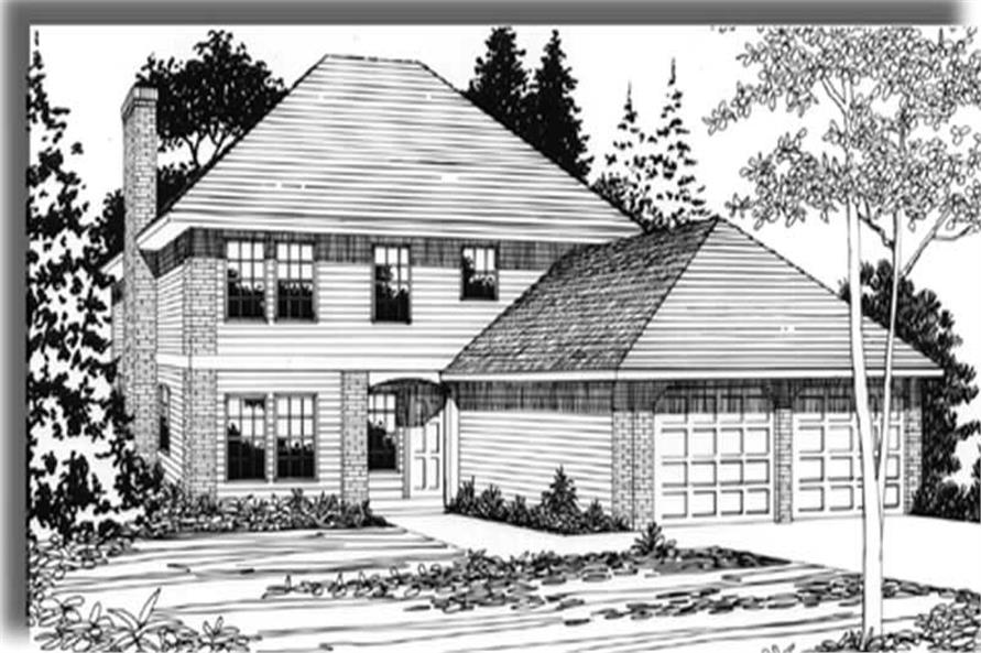 Main image for house plan # 2294