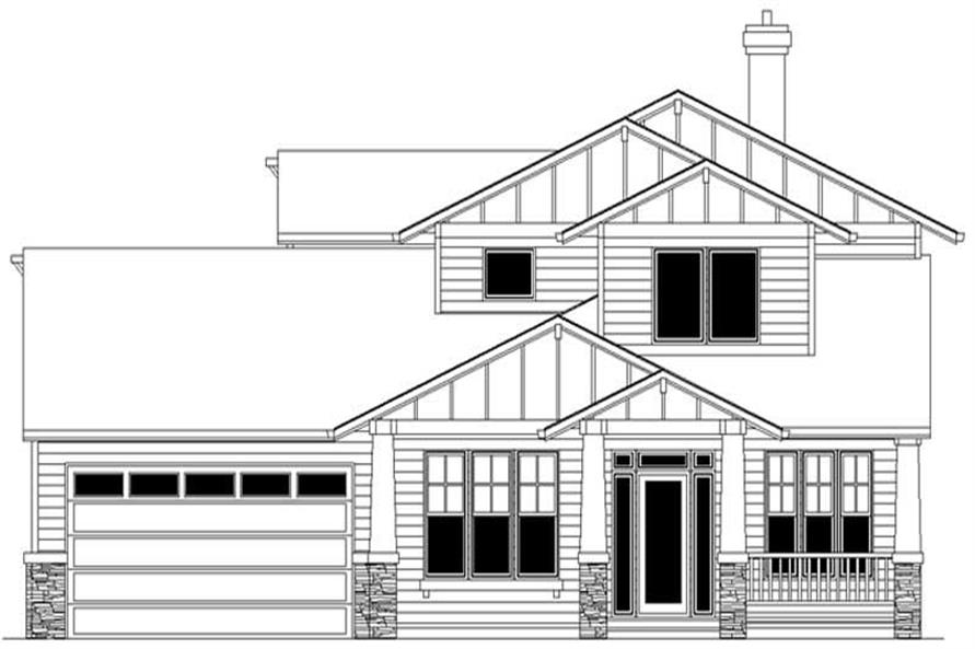 Main image for house plan # 2491