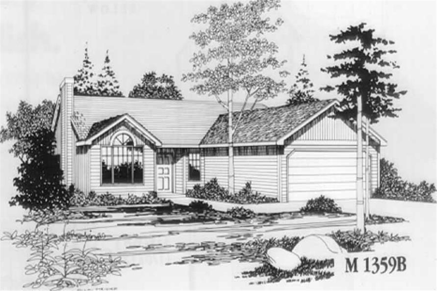 Main Elevation for ms1385