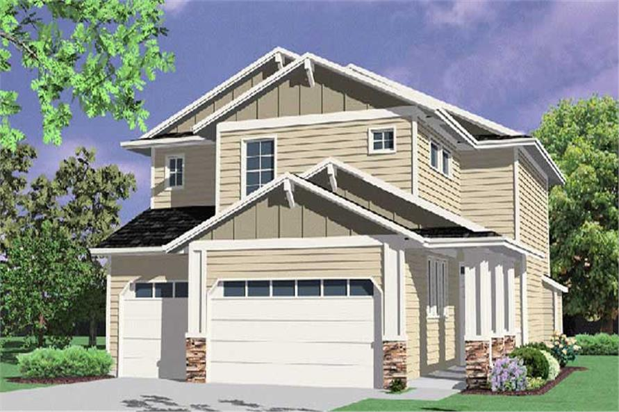 Main image for house plan # 2791