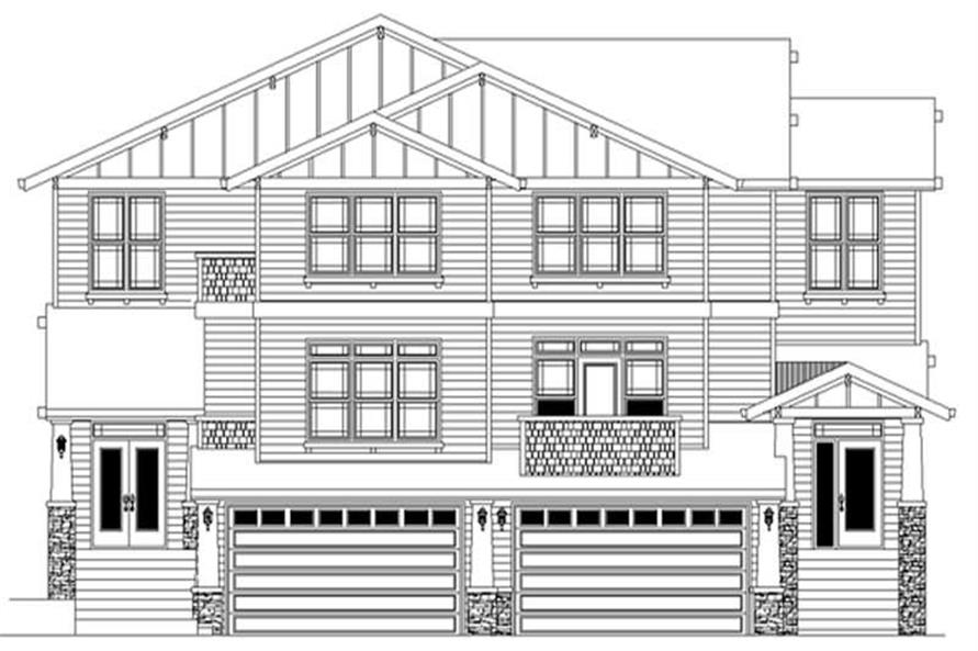 Main image for house plan # 2806