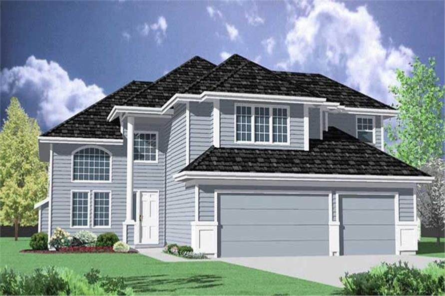 Main image for house plan # 2477