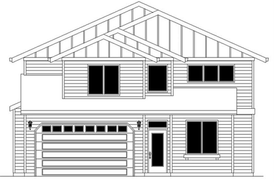 Main image for house plan # 2291