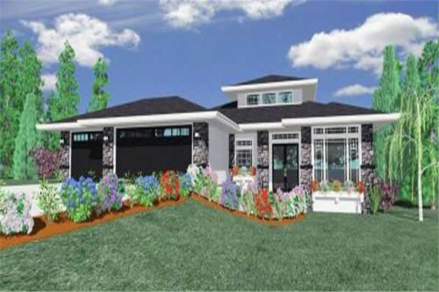 Main image for house plan # 2319
