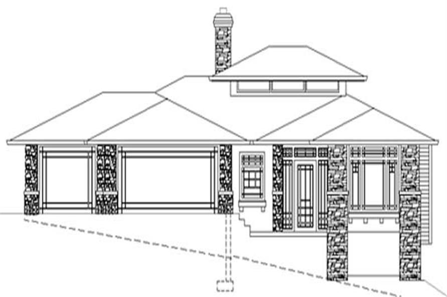 Main Elevation for ms3728