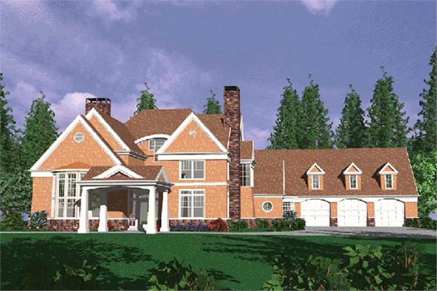 Main image for european house plan # 2347