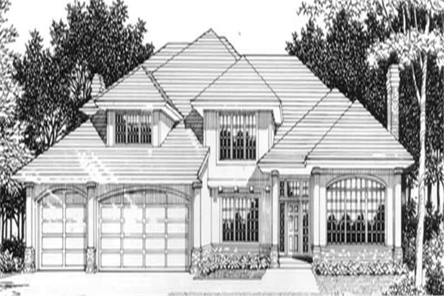 Main image for house plan # 2418