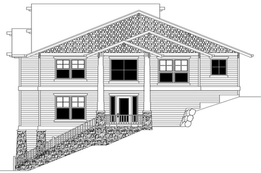 Main image for house plan # 2429