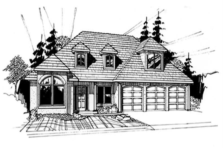Main image for house plan # 2427