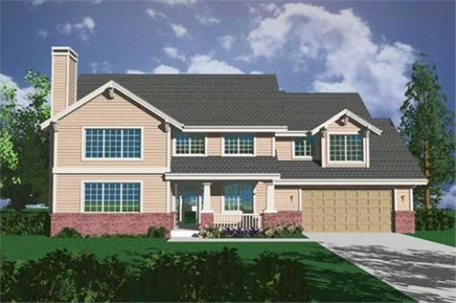 Main image for house plan # 2426