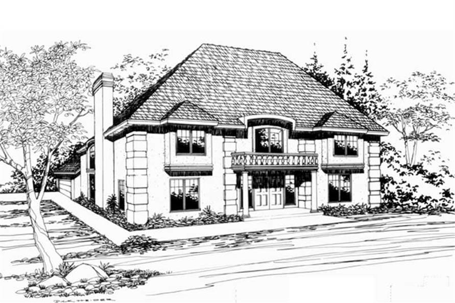 Main image for house plan # 2423