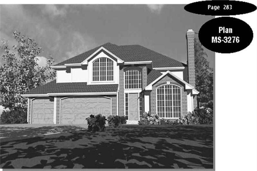 Main image for house plan # 2421