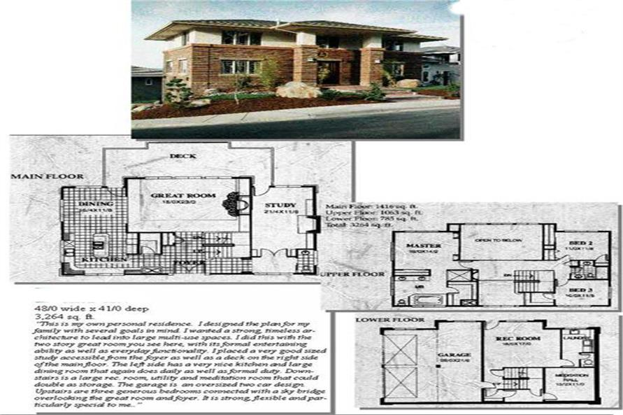 Main image for house plan # 2419