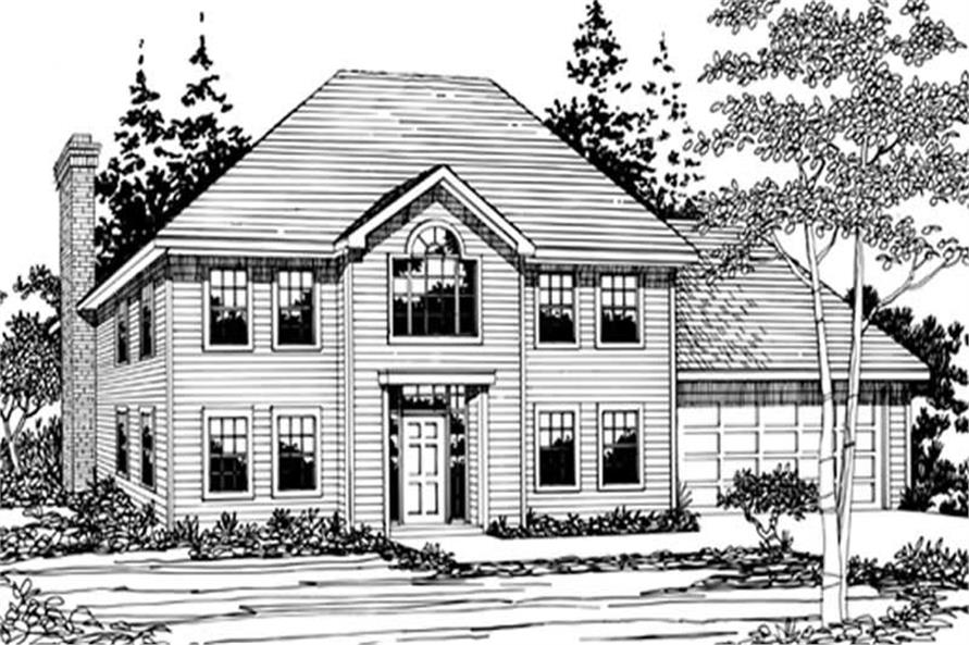 Main image for house plan # 2711