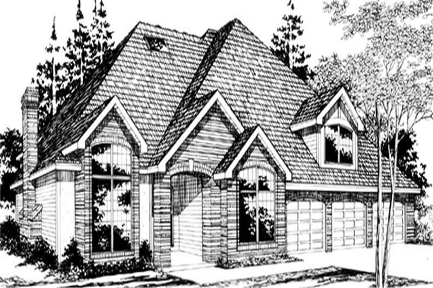 Main image for house plan # 2410