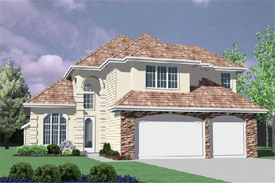 Main image for house plan # 2476