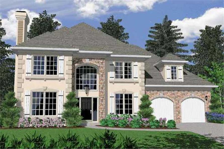 Main image for house plan # 2449