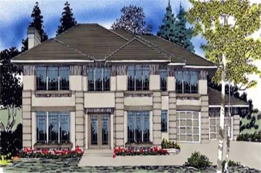 Main image for house plan # 2446