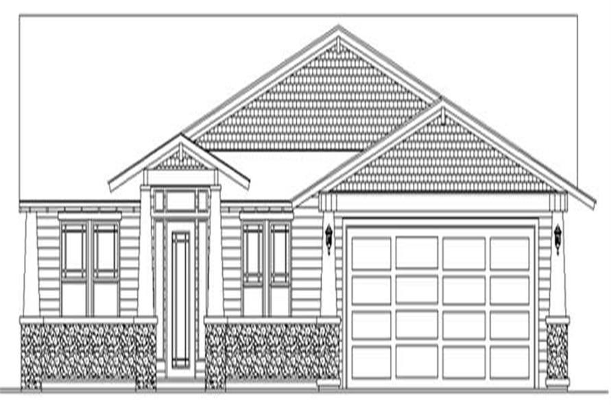 Main image for house plan # 2443