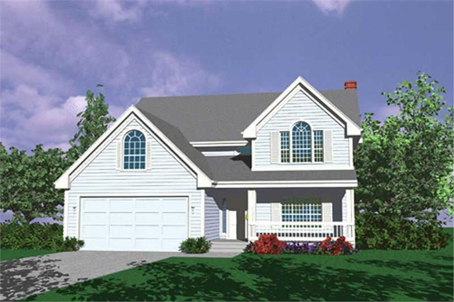 Main image for house plan # 2517